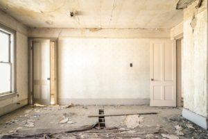 ristrutturazione interni prima